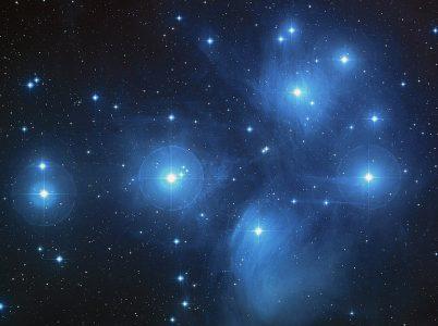 Astronomia: le Pleiadi
