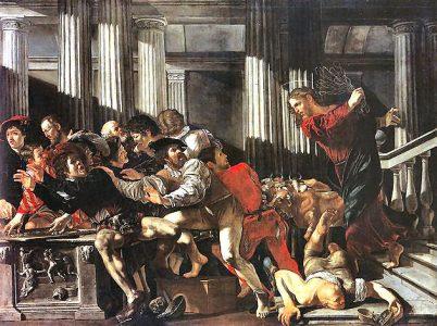 I Mercanti (La profanazione del Tempio)