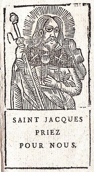 25 luglio, la Chiesa commemora l'apostolo San Giacomo il Maggiore