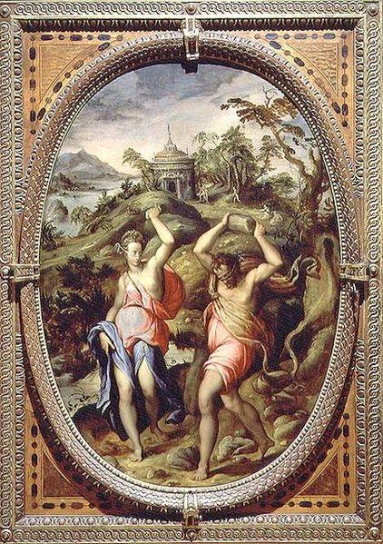 L'alba dell'umanità secondo la mitologia greca