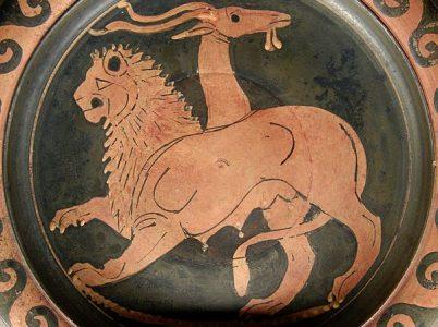 Chimera, il favoloso mostro della mitologia greca