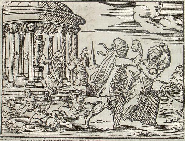 Il diluvio secondo la mitologia greca (Deucalione e Pirra)