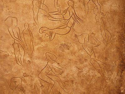 I graffiti delle grotte dell'Addaura:  indizi di antichi astronauti in Sicilia?