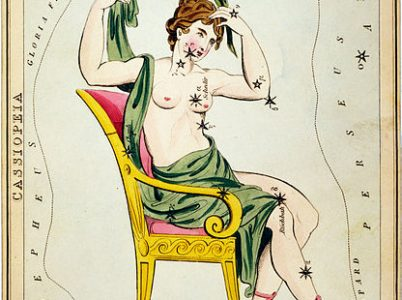La vanitosa Cassiopea (Cassiopeia)