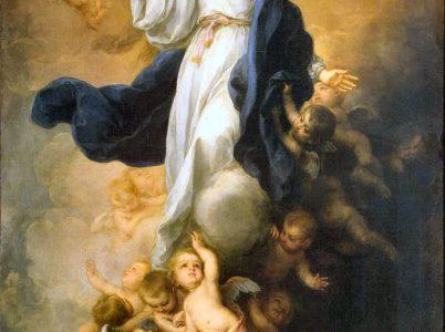 L'Assunzione della Beata Vergine Maria vista attraverso alcune famose opere d'arte