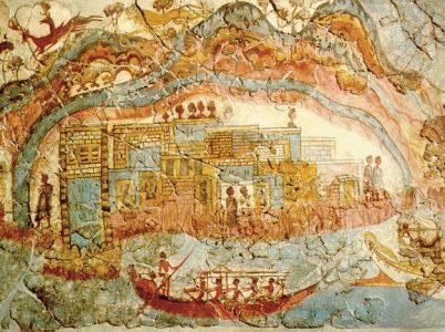 Il mito di Atlantide: conseguenza dell'eruzione minoica dell'isola di Thera?