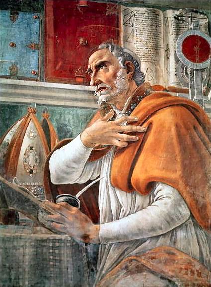 Sant'Agostino, vescovo e dottore della Chiesa