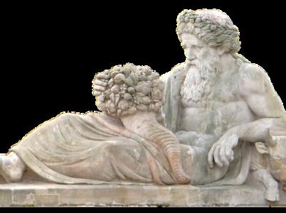 Acheloo, il dio fluviale dell'Etolia