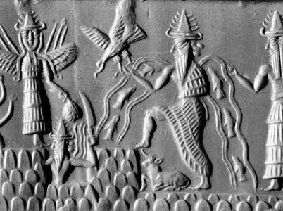 Enki, uno dei più importanti dèi della cultura sumera