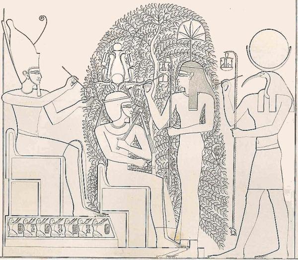 Thot, il dio degli scribi