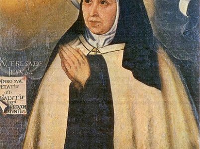 15 ottobre, Santa Teresa di Gesù (d'Avila)