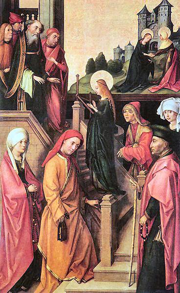 21 novembre, presentazione della Beata Vergine Maria