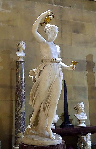 Ebe, la dea dell'eterna giovinezza