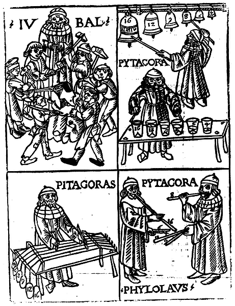 """Pitagora e la """"teoria musicale"""""""