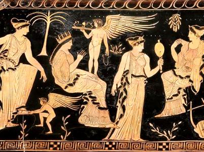 Asteria, la dea delle stelle cadenti e della divinazione notturna