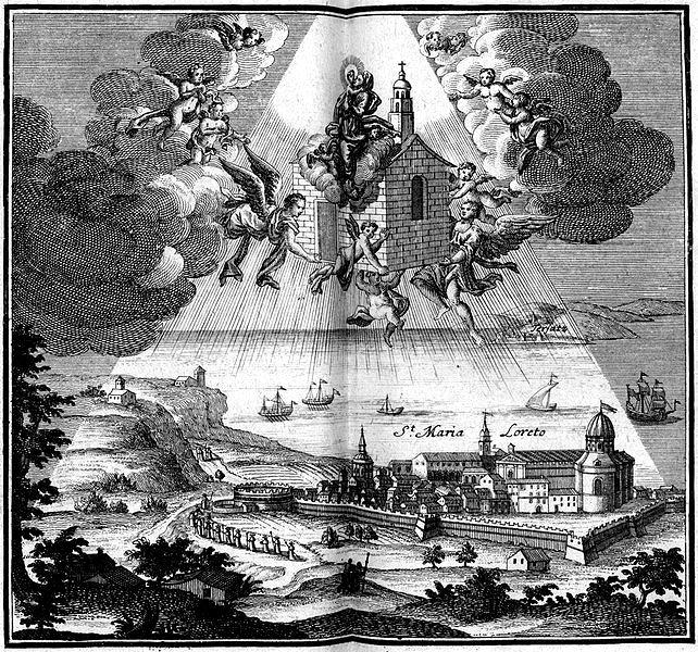 10 dicembre, Beata Vergine Maria di Loreto (La Santa Casa)