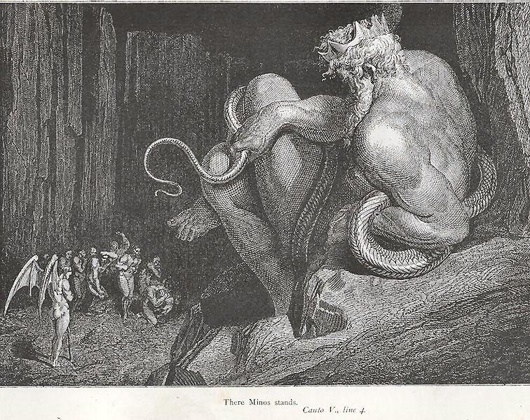 Minosse, il mitico re di Creta