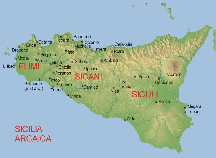 Breve sintesi delle origini dei popoli di Sicilia