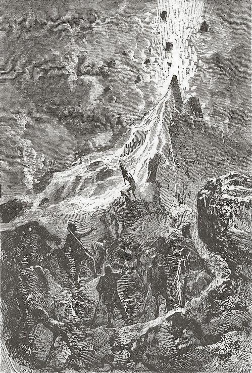 Il leggendario monte Hatteras, il vulcano del Polo Nord