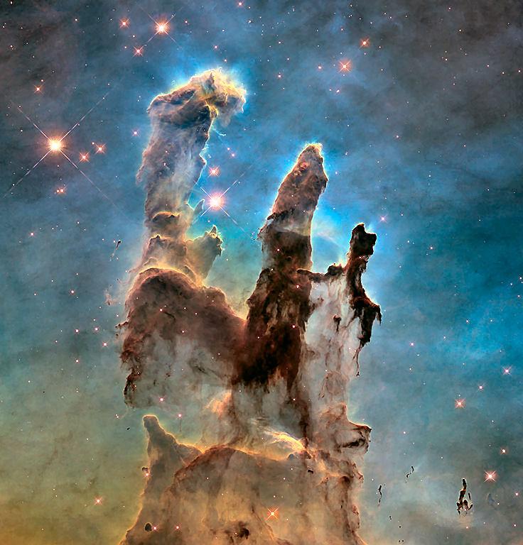 """Un'occhiata ai """"Pilastri della Creazione"""""""