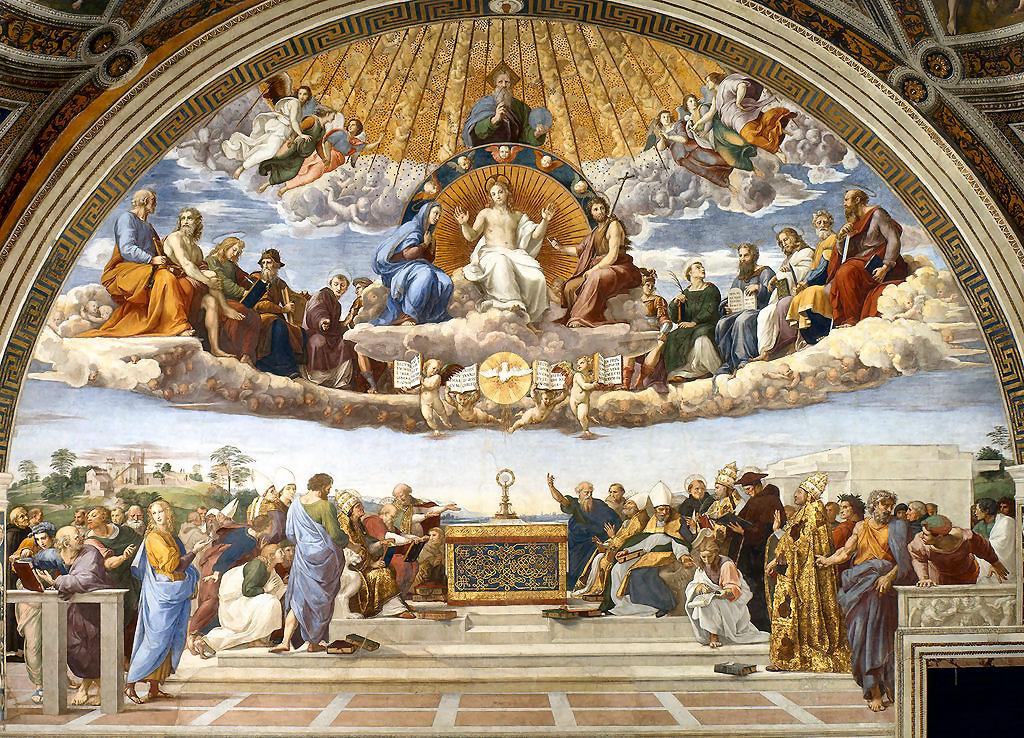 Raffaello Sanzio, pittore e architetto italiano (Urbino, 1483 – Roma,1520)