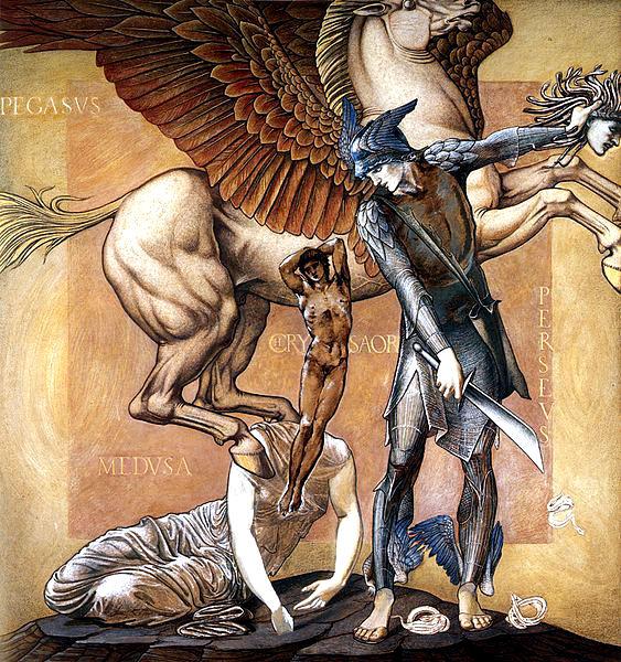 Crisaore, un figlio della Gòrgone Medusa