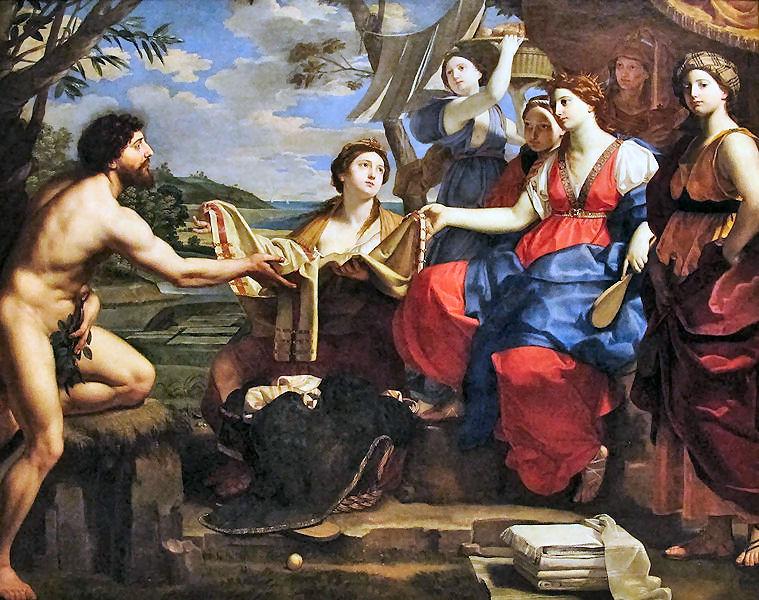 Sintesi delle tribolazioni vissute da Odisseo (Ulisse)
