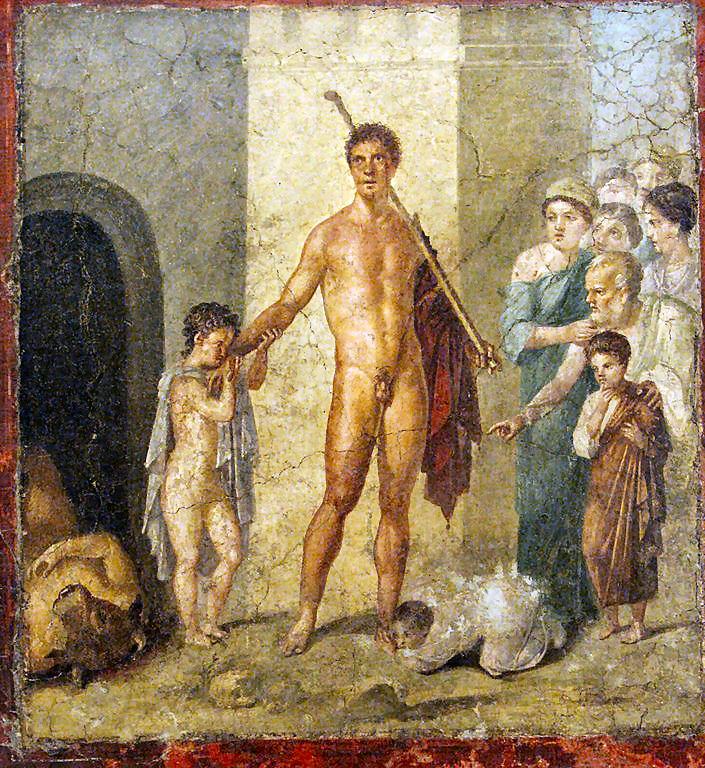 Teseo, il mitico re di Atene
