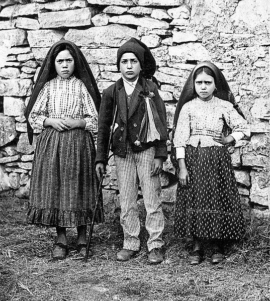 """Le apparizioni di """"Nostra Signora di Fatima"""""""