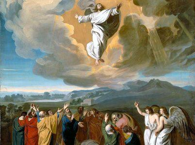 L'Ascensione del Signore vista attraverso alcune pitture