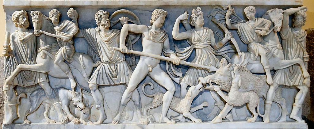 Il mito di Meleagro, Atalanta e il cinghiale Calydon