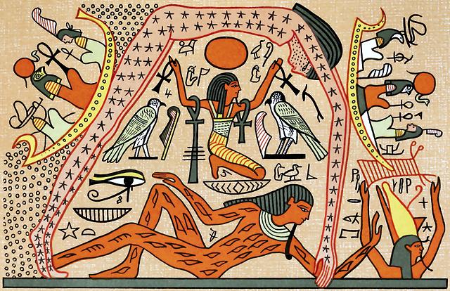 Il mito della creazione del mondo nell'antico Egitto