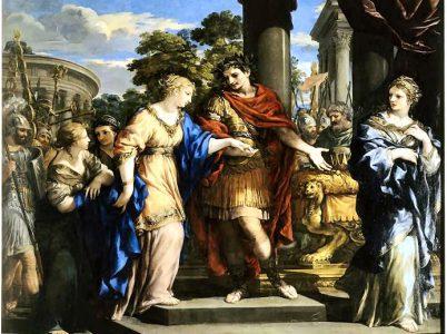 Le origini della storia d'amore tra Cesare e Cleopatra