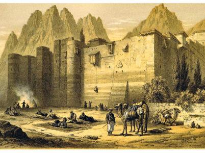 Lingue dimenticate da secoli svelate da manoscritti del Monastero di Santa Caterina, nel Sinai.