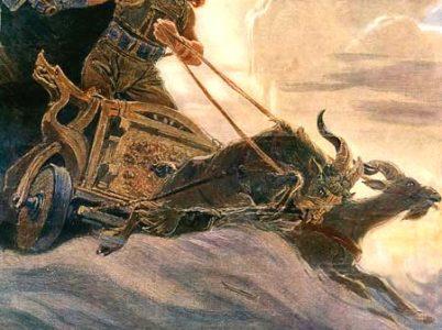 Thor, il dio deltuonoe delfulmine