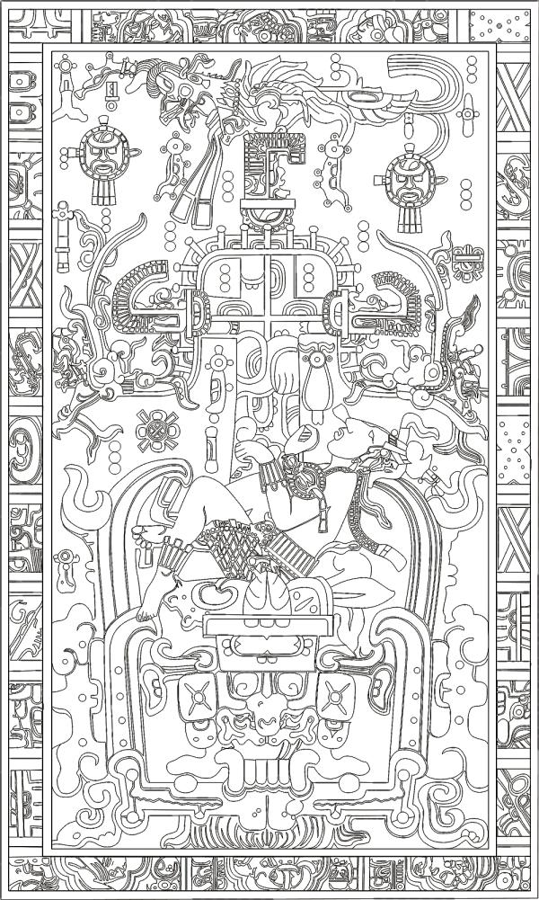 La lastra di Palenque
