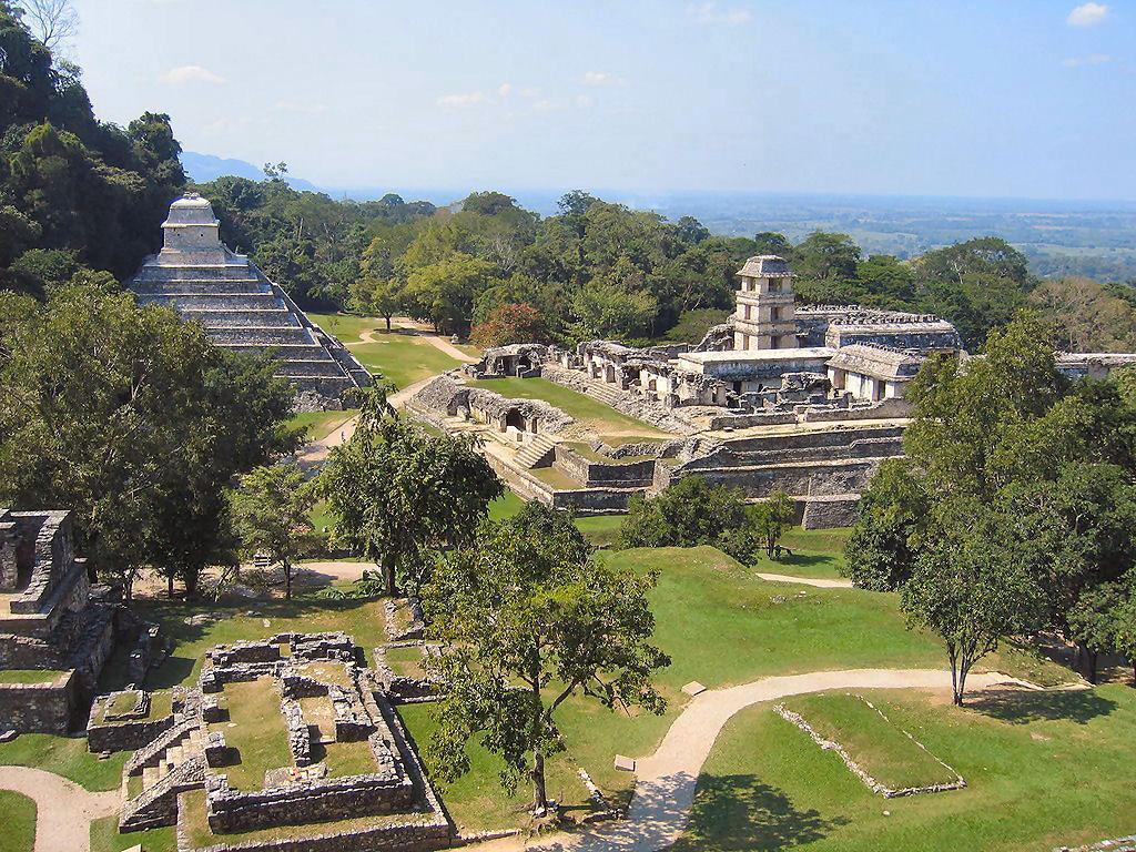 Palenque: un centro di cerimonie Maya