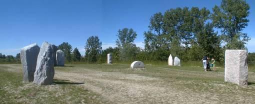 La Stonehenge sul Ticino (Gravellona Lomellina)