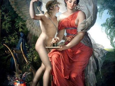 Erato, la musa della poesia erotica
