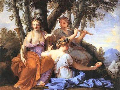 Talia, la musa della commedia e della poesia bucolica