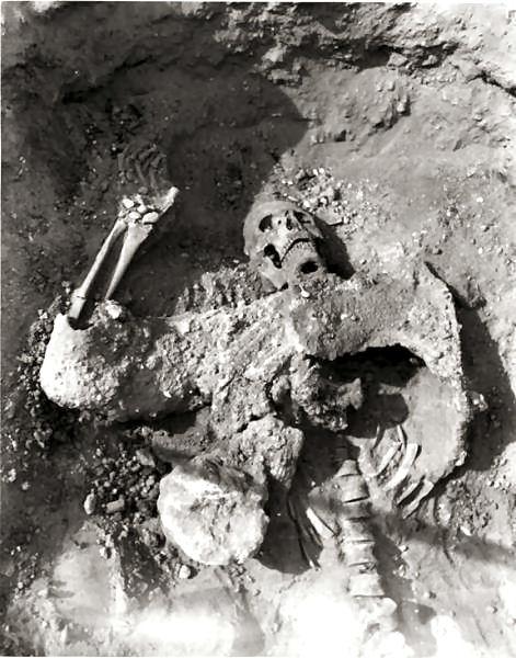 Prove di una guerra chimica al tempo degli antichi romani?