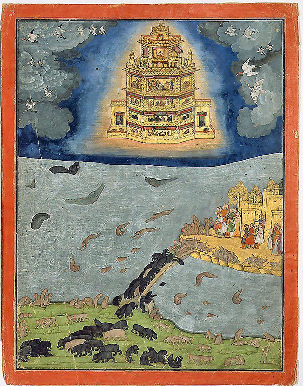 Vimāna: le mitologiche macchine volanti indiane