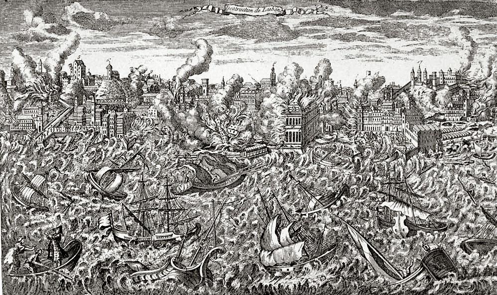Terremoto, divagazioni mitologiche