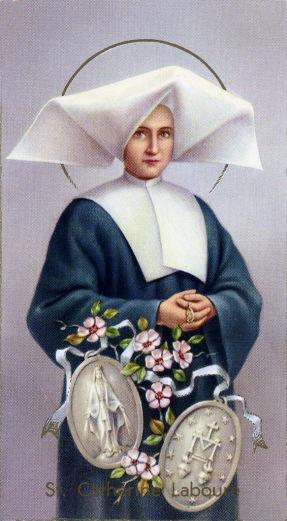 31 dicembre – Santa Caterina Labouré
