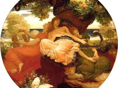 Ladone, il drago che sorvegliava i pomi d'oro delle Esperidi