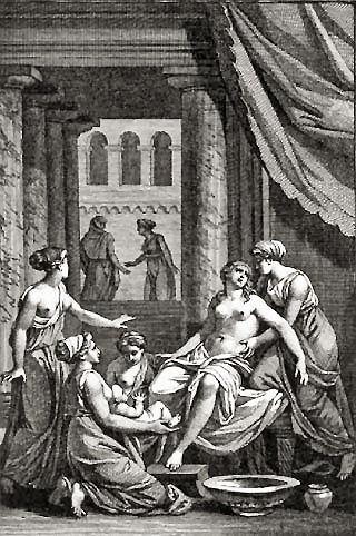 Galinzia, la nutrice di Eracle