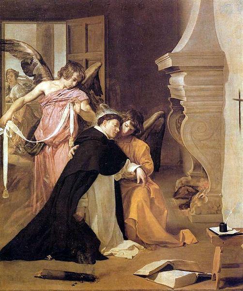 San Tommaso d'Aquino descrive gli angeli