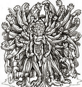 Gli Ecatonchiri, i tre gianti Centimani