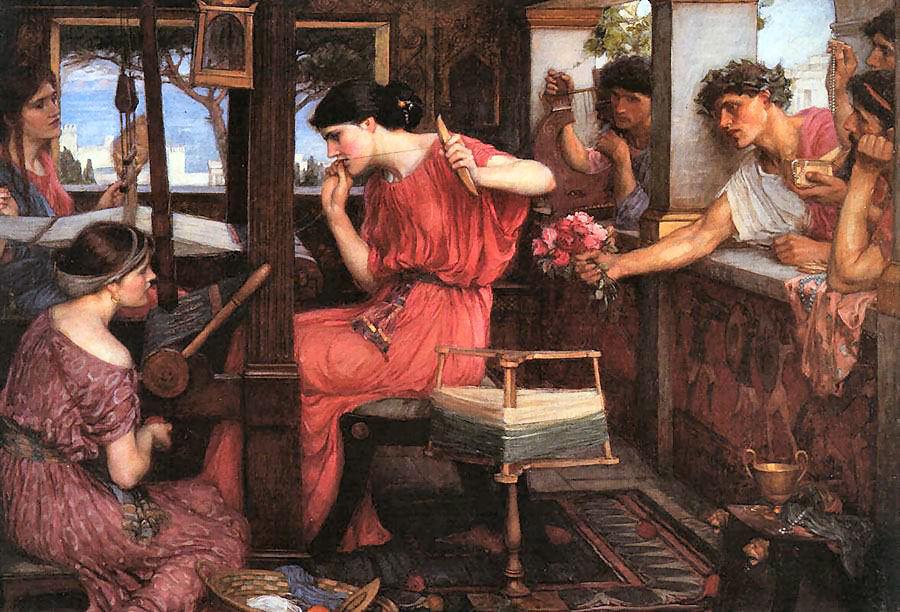 Penelope, la fedele sposa di Ulisse