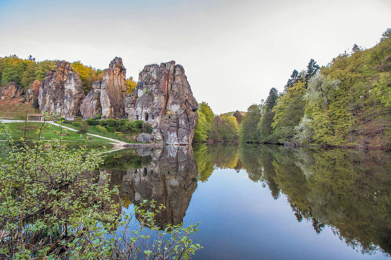 Un santuario germanico: Externsteine